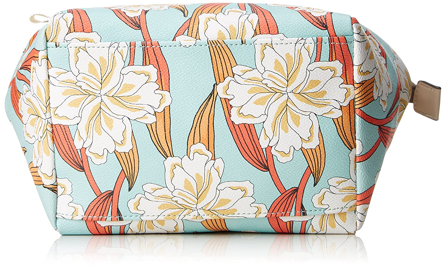 B x H T 12x22x22 cm Turquesa Light Turquoise Organizadores de bolso Mujer Oilily Jolly Ornament Washbag Mhz 2