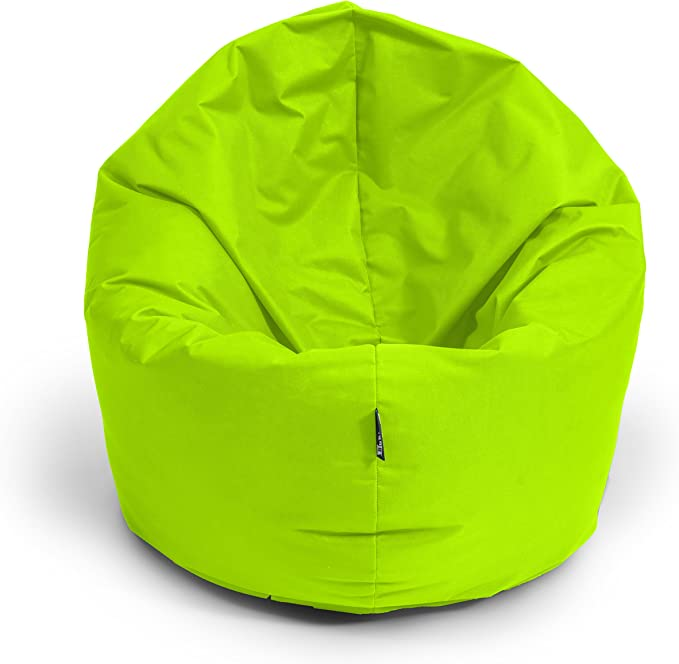 BuBiBag 2-in-1 Beanbag Chair with Filling, Size L - XXL - Can be Used as a Teardrop-Shaped Seat or Floor Cushion - Chair / Armchair / Beanbag Chair: Amazon.de: Küche & Haushalt