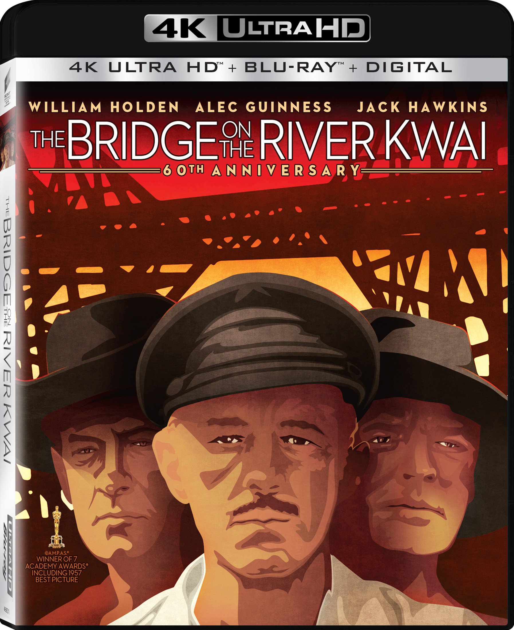 4K Blu-ray : The Bridge On The River Kwai (With Blu-Ray, 4K Mastering, Ultraviolet Digital Copy, 2 Pack, )
