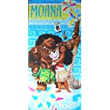 Moana Beach Towel measures 28 x 58 inches
