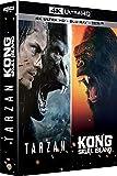 Kong : Skull Island + Tarzan - Coffret 4k Ultra HD [4K Ultra HD + Blu-ray + Digital HD]