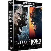 Kong : Skull Island + Tarzan - Coffret 4k Ultra HD [4K Ultra HD
