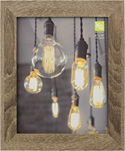 kieragrace Farmhouse Picture-Frames, 8x10, Driftwood Grey