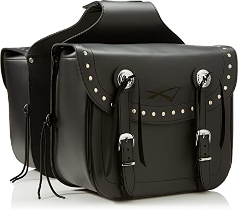 A-Pro Custom Motorcycle Biker REN Forced Saddle Bag Luggage Chopper Saddle Bags: Amazon.es: Coche y moto