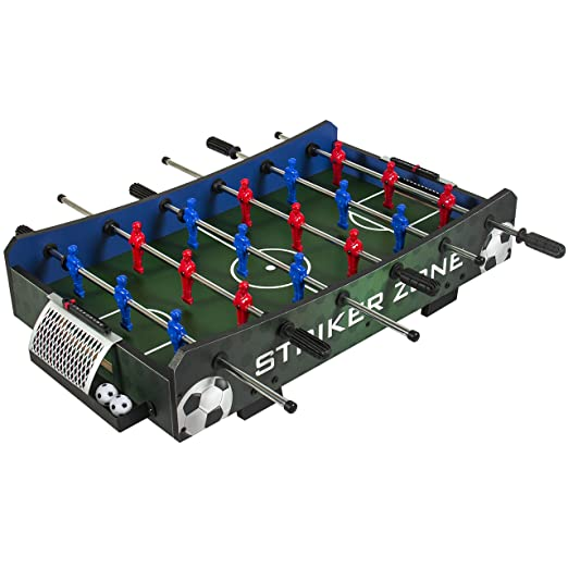 Best Choice Products Striker Zone Tabletop Soccer Foosball Table