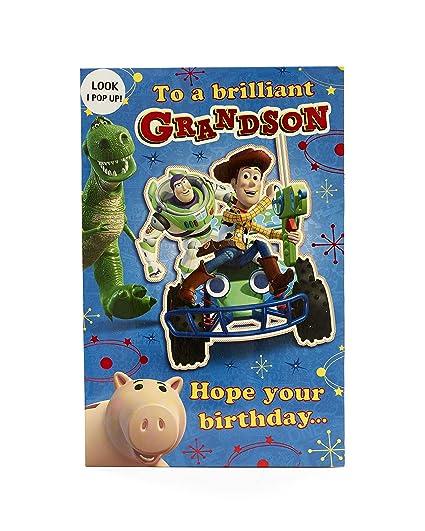 Carlton 418253-0-1 - Tarjeta de cumpleaños para nieto de ...