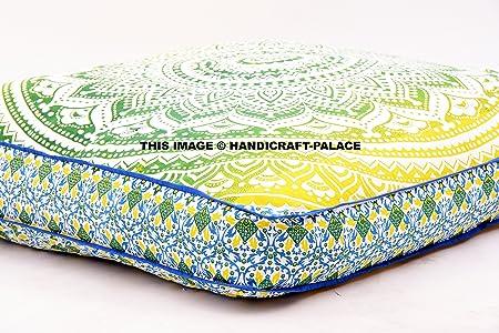 Handicraftspalace - Cojín cuadrado para suelo, diseño de ...