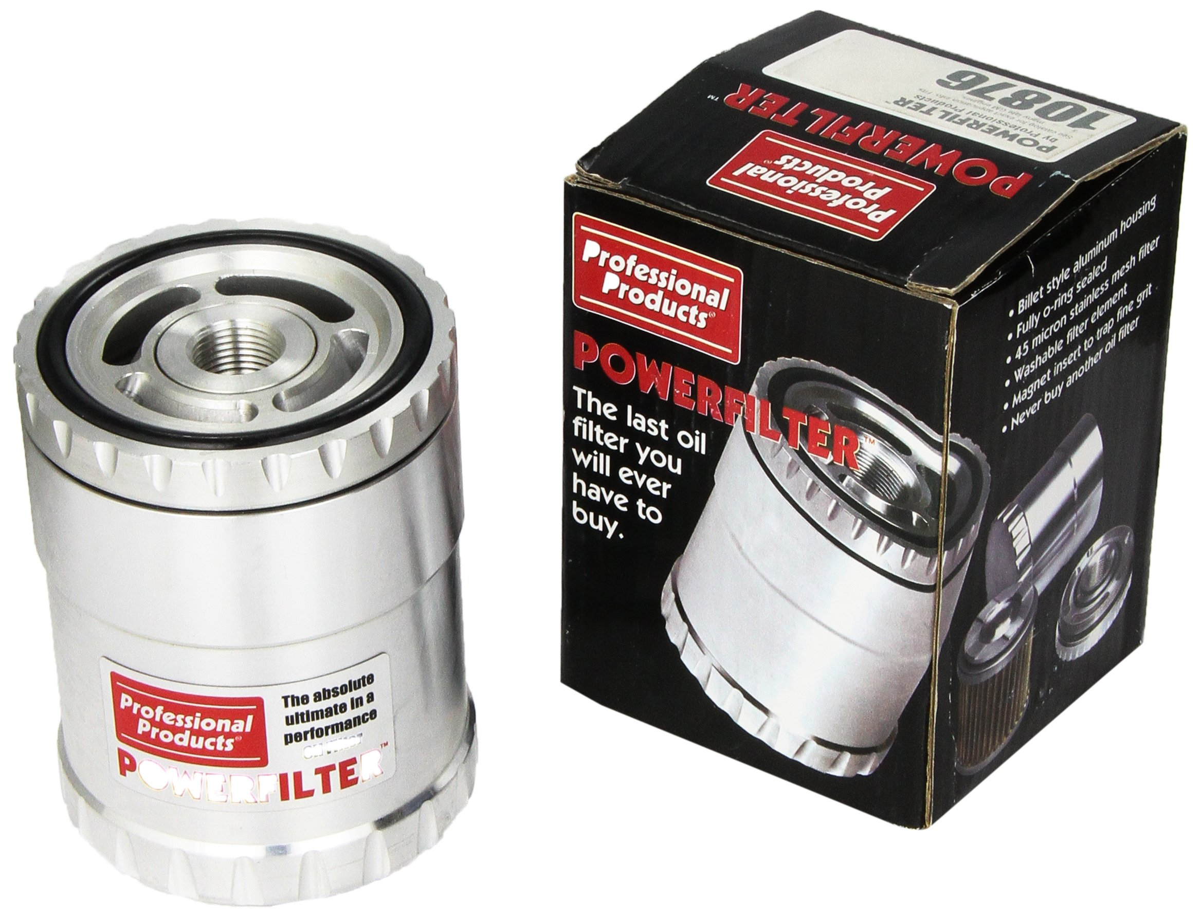 Professional Products 10876 M18-1.5 mm Thread Medium Housing Oil Filter by Professional Products