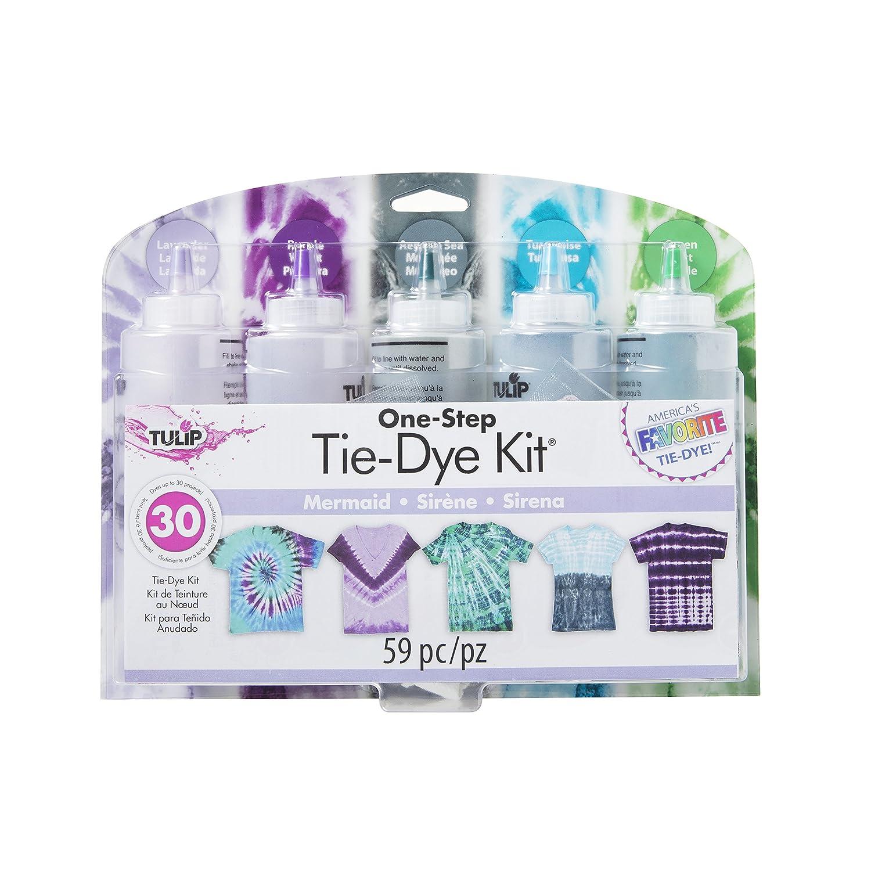 Tulip 37934 One-Step Tie-Dye Kit Fabric, Mermaid Duncan Enterprises