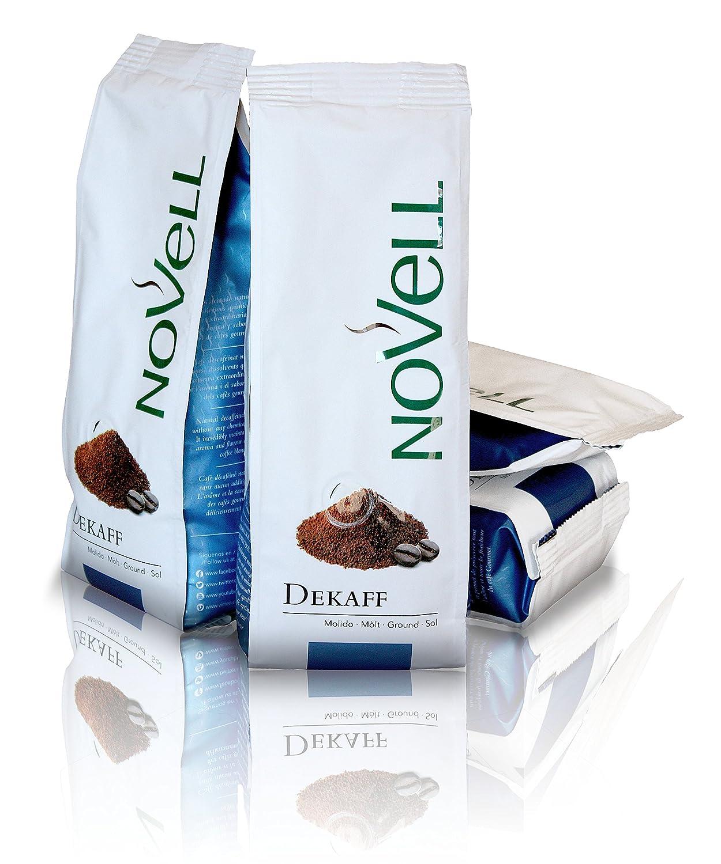 Cafes Novell Café Descafeinado Molido - 4 Paquetes de 250g: Amazon.es: Alimentación y bebidas