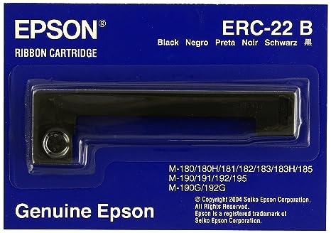 Epson ERC 22B - Cinta de impresión - 1 x negro, Ya disponible en ...