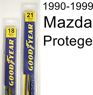 """product image for Mazda Protege (1990-1999) Wiper Blade Kit - Set Includes 21"""" (Driver Side), 18"""" (Passenger Side) (2 Blades Total)"""
