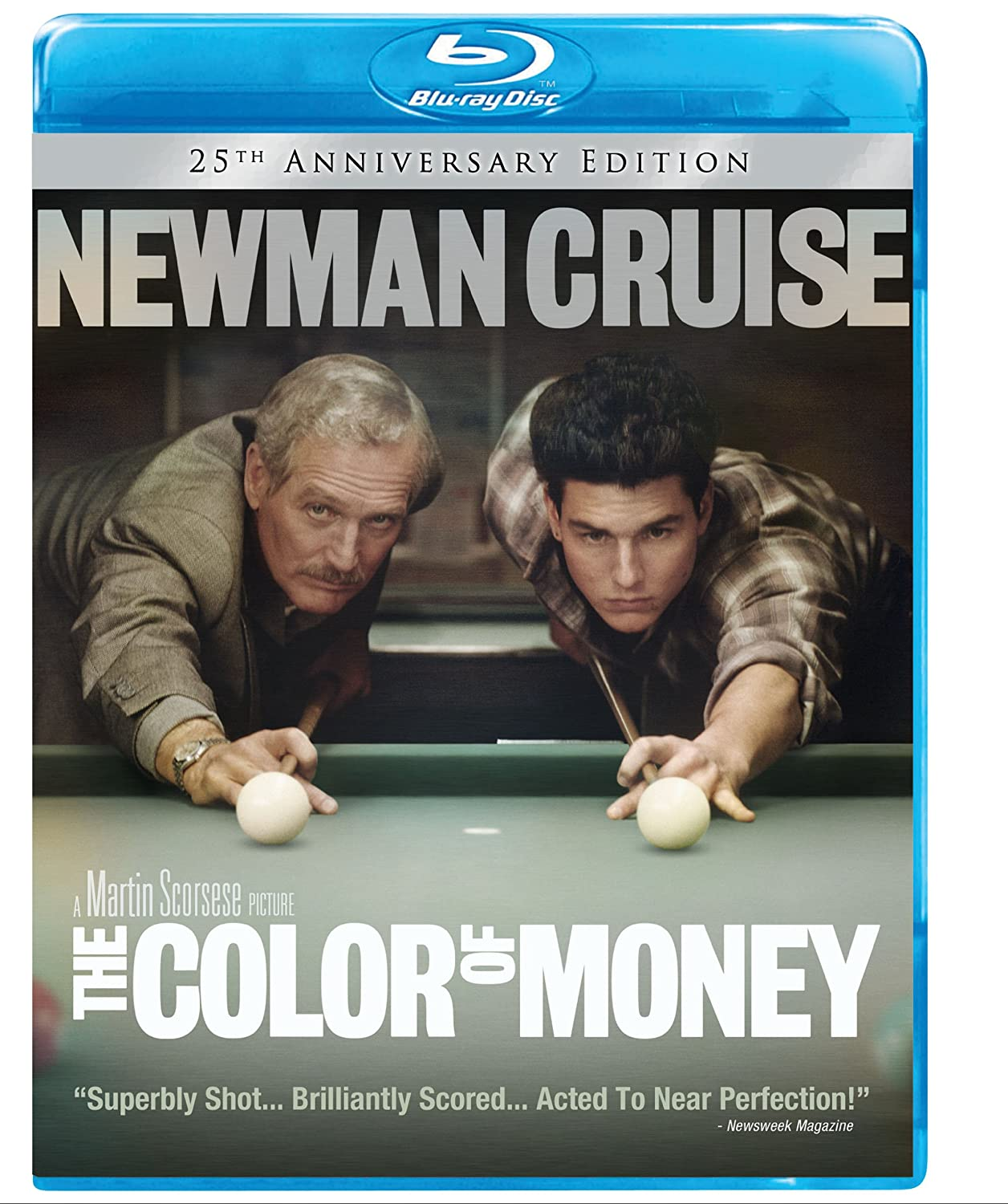 The Color of Money: 25th Anniversary Edition [Blu-ray] Paul Newman Tom Cruise Touchstone Home Entertainment 25195392