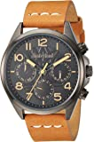 Timberland Men's TBL14844JSU02 BARTLETT II Analog Display Analog Quartz Beige Watch