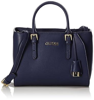 457b381a2496 Guess Women s HWSISSP7136 Shoulder Bag Blue Blue (Navy Blue NAB)   Amazon.co.uk  Shoes   Bags