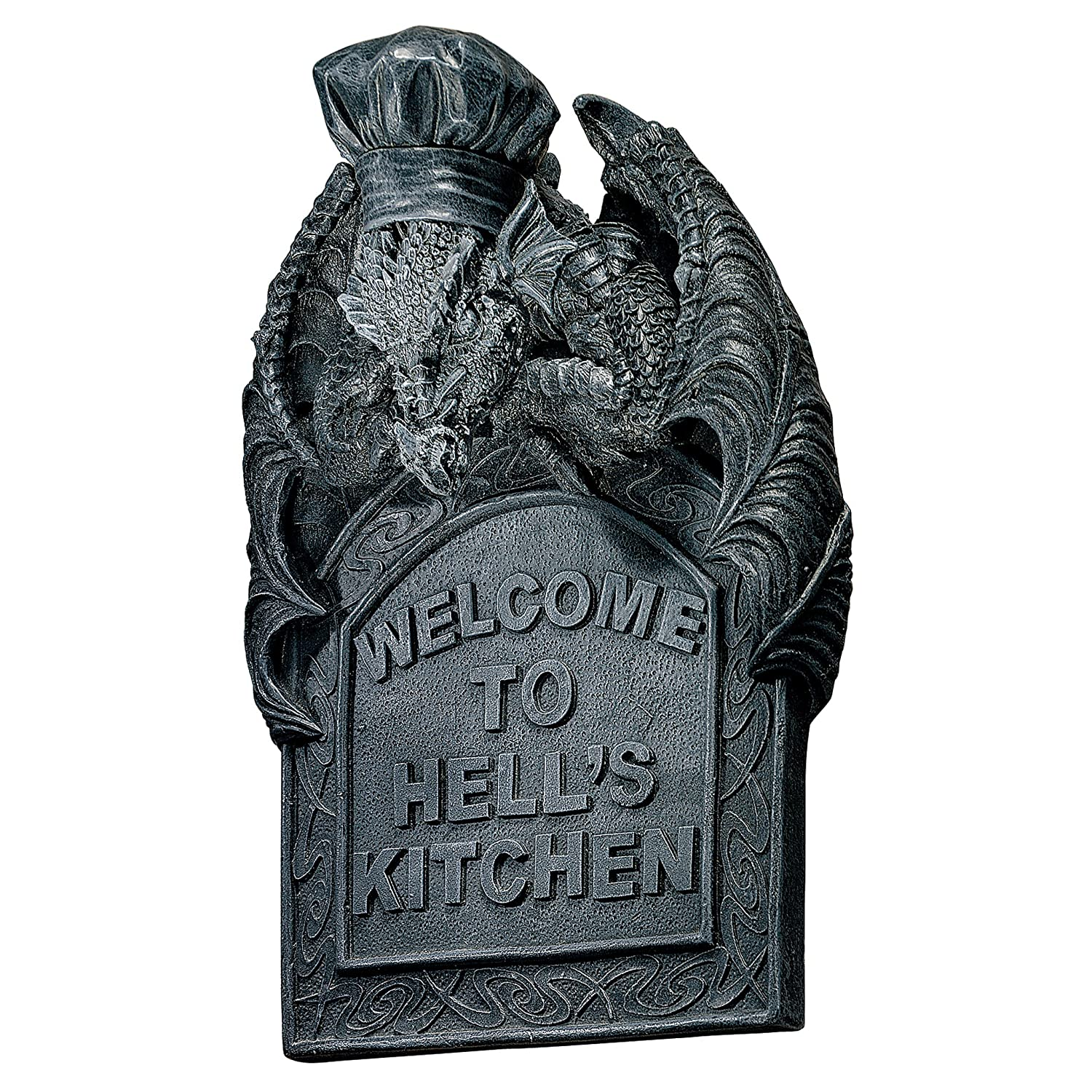 Design Toscano Hell's Kitchen Sculptural Wall Plaque - Set of 2 CL94737