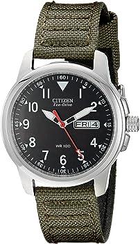 Citizen BM8180-03E Eco-Drive Canvas Strap Men's Watch