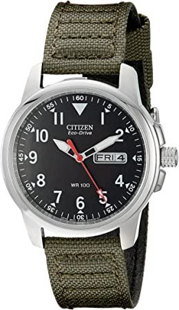 side facing citizen men's bm8180-03E solar watch