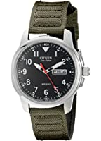 Citizen Men's Eco-Drive Watch with Day/Date display, BM8180-03E