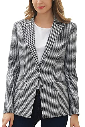 Hanayome Women S Blazer Office Outfits Two Buttons Formal Long