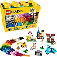 LEGO 10698 Classic Creative Grote Opbergdoos, Simpele Speelgoed met Opslagdoos voor Kinderen van 4 Jaar en Ouder