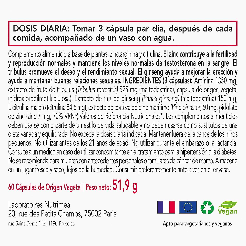 Potenciador Sexual Pastillas Ereccion Natural Estimulante Virilidad Para Hombre Suplemento Masculino PROREXTOR: Amazon.es: Salud y cuidado personal