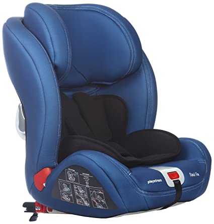 Playxtrem Navi Fix, Silla de coche grupo 1/2/3 Isofix, azul: Amazon ...