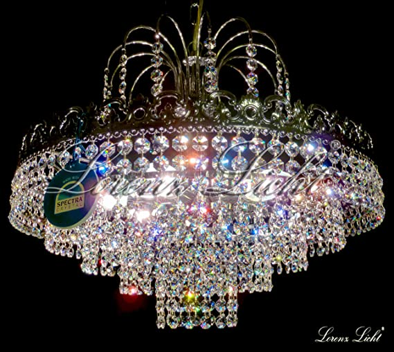 swarovski crystal lighting. CRYSTAL LIGHTING CHANDELIER \u0026quot;CATALINA\u0026quot; MADE WITH REAL SWAROVSKI CRYSTALS! Swarovski Crystal Lighting I
