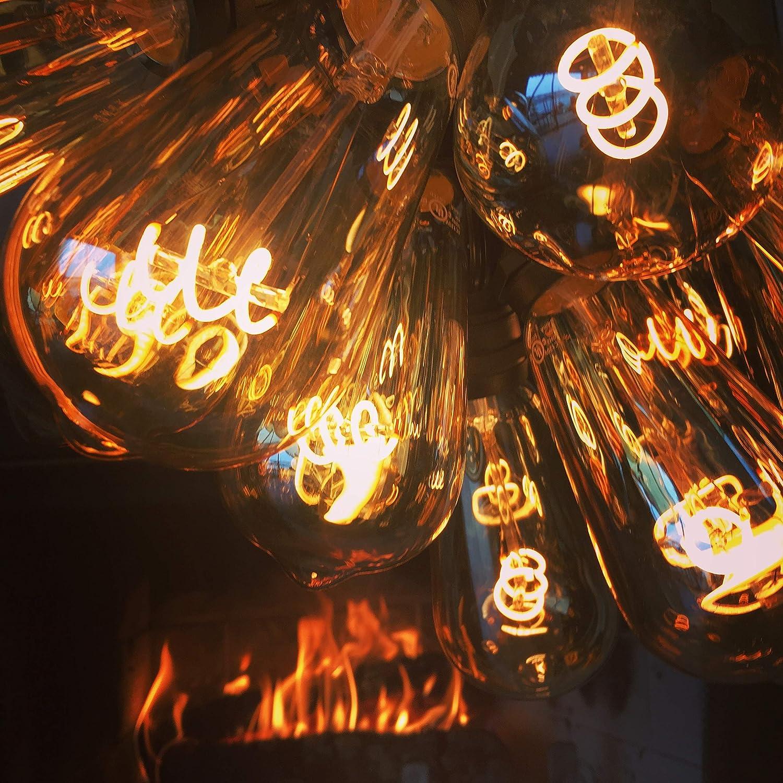 The Burton Bulb Edison Style 5W=40W LED Light Bulb with Flicker-Less LED Technology Burton Lighting Inc.