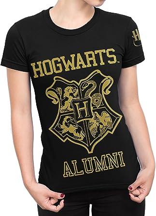 HARRY POTTER - Camiseta para Mujer - Hogwarts - XX-Large: Amazon.es: Ropa y accesorios