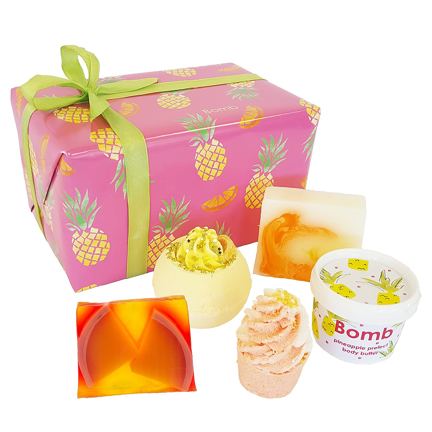 Bomb Cosmetics Totally Tropical Handmade Gift Pack