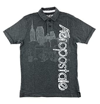 14b1699912a Aeropostale Men's Graphic Polo Shirt at Amazon Men's Clothing store: