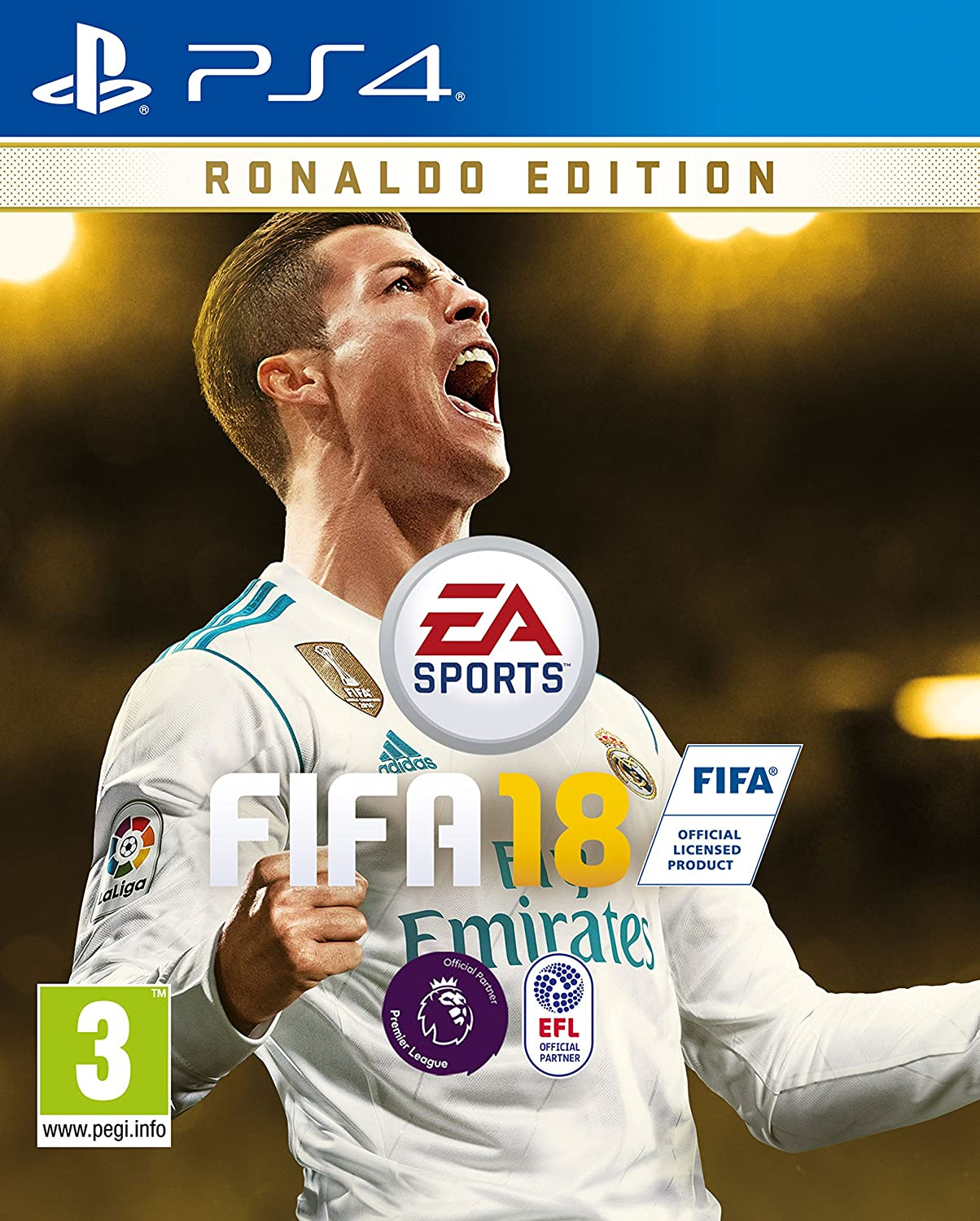 FIFA 18 Ronaldo Edition (PS4), PlayStation 4