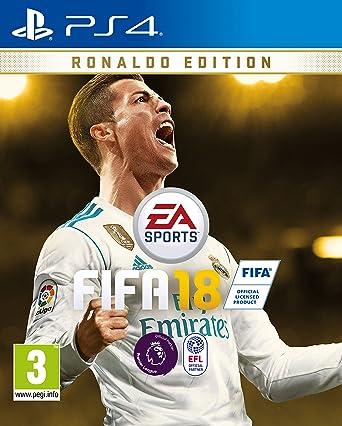 FIFA 18 Ronaldo Pre Order Edition PS4