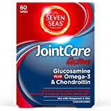 Seven Seas JointCare Active with Glucosamine plus Omega-3 & Chondroitin, 60 Capsules