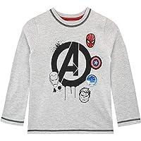 Marvel Camiseta de Manga Larga para niños Avengers