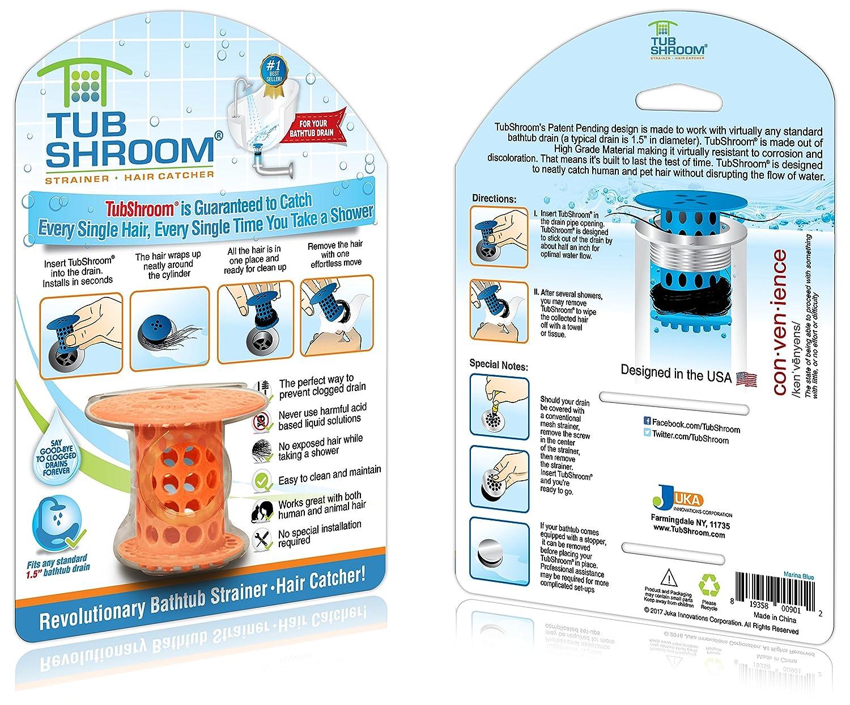 Tubshroom Revolutionärer Abflusssieb/Haarsieb Orange: Amazon.de ...