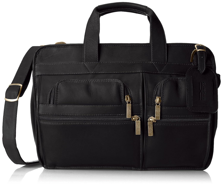 """Y/αY/α Mens Business Leather Briefcase Messenger Shoulder Bag Crossbody Satchel Handbag Brown for 15/""""Laptop"""