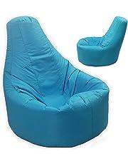 Gamer sillón reclinable y puf de tamaño grande para exteriores e interiores para videojuegos para XXL