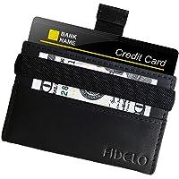 FIDELO Slim Wallets for Men - Minimalist RFID Blocking Credit Card Holder - Lightweight Front Pocket Mens wallet with money clip - Full Grain Genuine Leather
