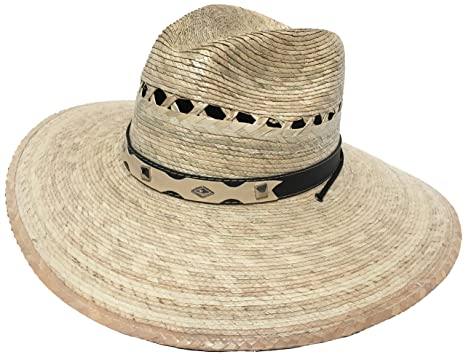 Mexican Palm Western Sombrero Cowboy Hat Safari Sun Lifeguard ... b6093ec0f51