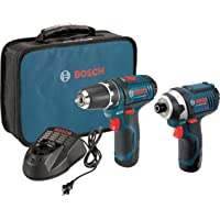 Bosch 2-Tool 12-Volt Max Power Tool Combo Kit w/2-Batteries Deals