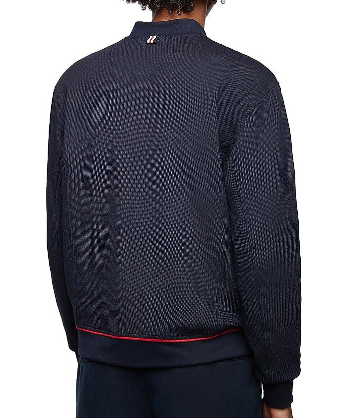 f49414c6 Zara Men's Embroidered Anchor piqué Jacket 9240/426 Blue: Amazon.co.uk:  Clothing