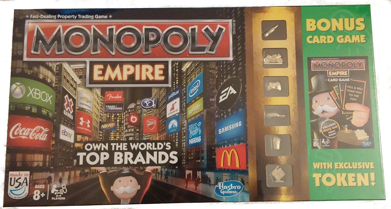 Hasbro Monopoly Empire with Bonus Card Game: Amazon.es: Juguetes y juegos