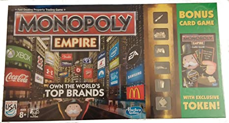 Hasbro Monopoly Empire with Bonus Card Game: Amazon.es: Juguetes y juegos