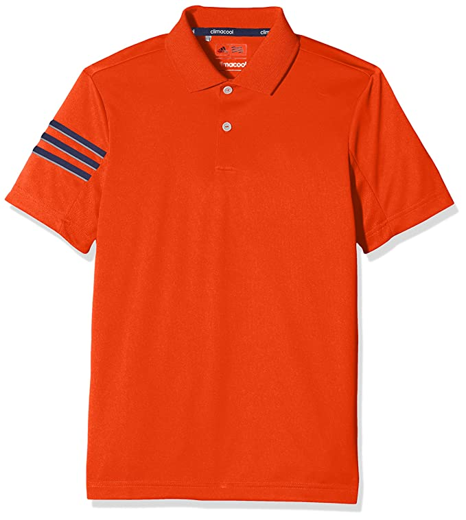 adidas 3-Stripes Polo de Golf, Niños: Amazon.es: Ropa y accesorios