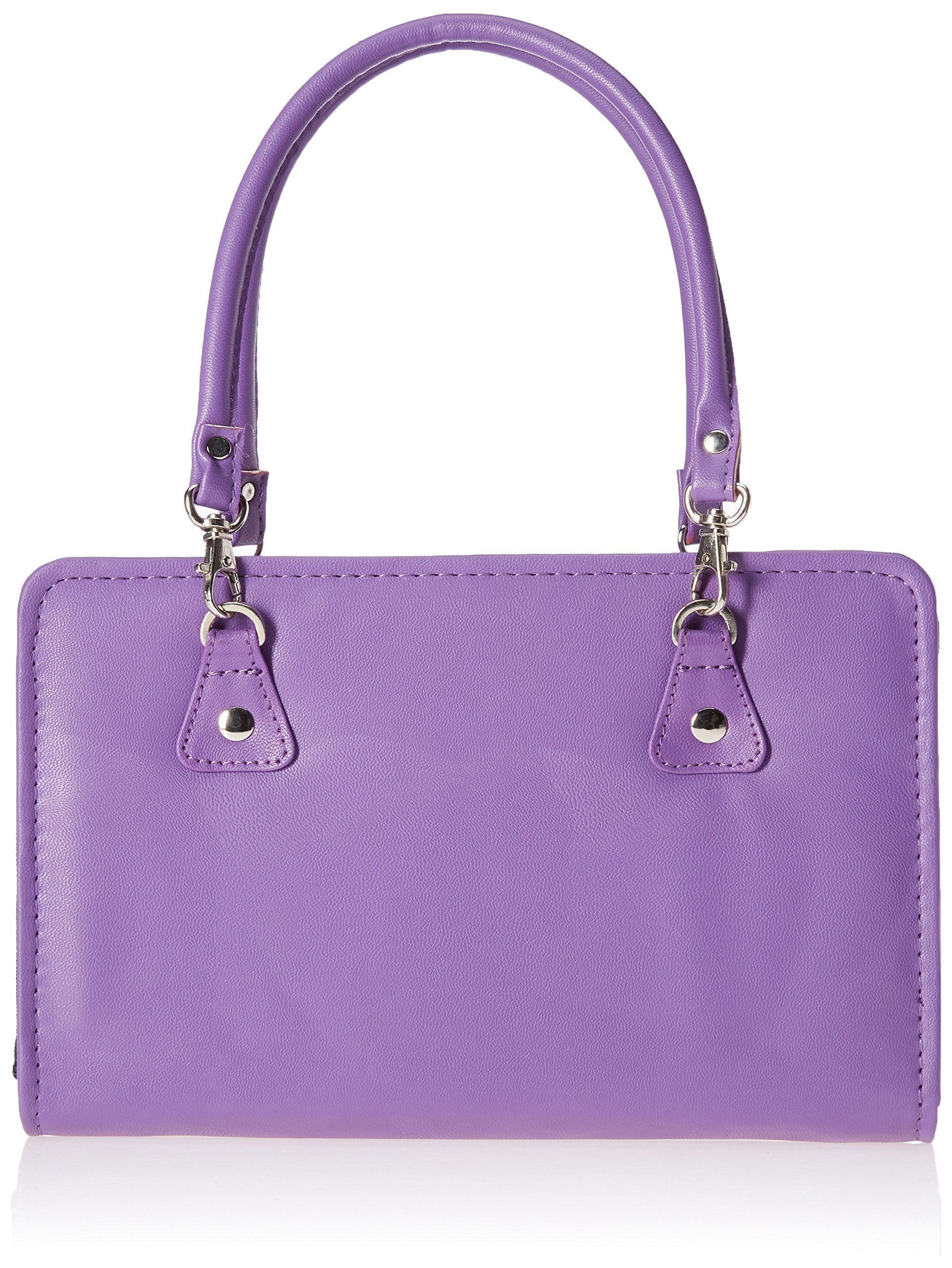 Knitter's Pride Thames Faux Leather Bag, Purple by Knitter's Pride (Image #1)