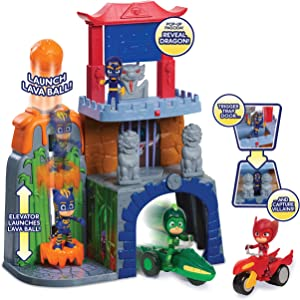 PJ Masks Mystery Mountain Playset- Brown Mailer