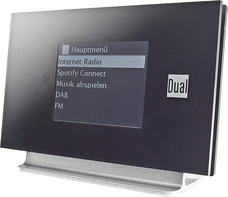 Radiostation Dab Ukw Internetradio Sendersuchlauffunktion Bluetooth Aux Ausgang Farbdisplay Senderspeicher Radioadapter Wireless Music Streaming Spotify Schwarz Dual Ir 3a Heimkino Tv Video