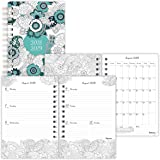 Blueline DoodlePlan Weekly/Monthly Academic Coloring Planner, 8 x 5 inches, English, Assorted Designs (CA2910.ASX-19)